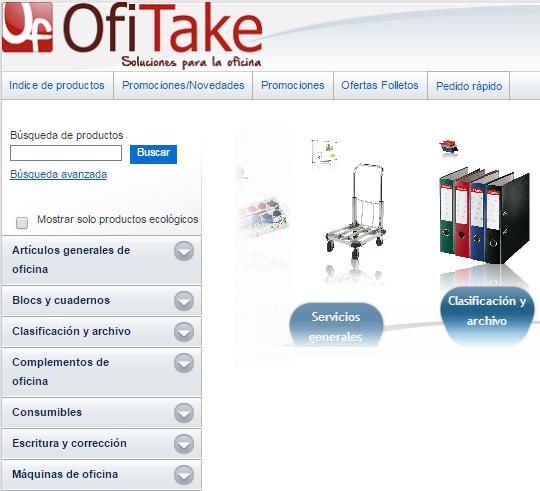 Tienda Online Ofitake