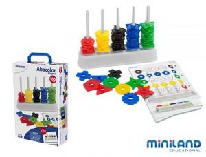Ábaco miniland - juegos educativos infantiles