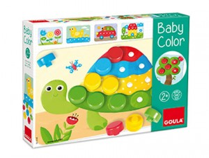 Juego didáctico baby color