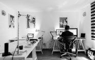 Escáner como material de oficina